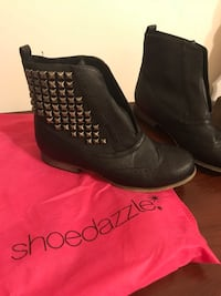 Black studded boots Inwood, 25428