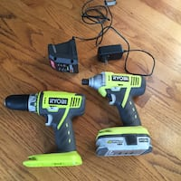 RYOBI cordless drill and driver Vancouver