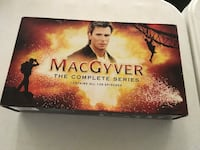 MacGyver, the complete series, 139 episodes Severn, 21144