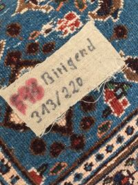 blue, white, and red floral textile Venice, 34293