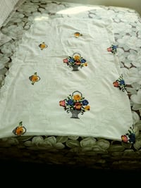 white and multicolored floral textile Bakersfield, 93309