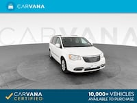 2016 Chrysler Town and Country mini-van Touring Minivan 4D White Brentwood