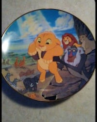 Lion king glass collection plate Denver, 80247