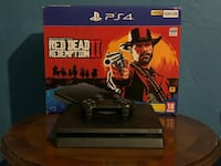 Sıfır ayarında Ps4 Slim 500 Gb + Red Redemption 2 Dvd'li