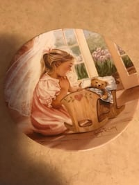 "Sweet Dreams"" collector plate with Certificate Cambridge, N1T 2J5"
