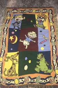 Rugrats blanket thick and warm