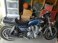 blue and black cruiser motorcycle Troy, 05859