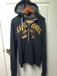 Men's size Large Abercrombie and Fitch zip up hoodie  Toronto, M8Z 3Z7