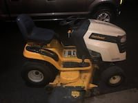 yellow and white Cub Cadet riding mower Charles Town, 25414