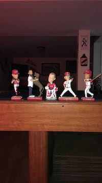 Bobble heads, $8 each or $35 for all . Clifton, 20124
