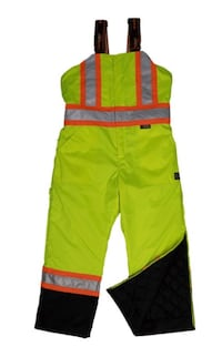 INSULATED HI-VIZ OVERALL – WATERPROOF