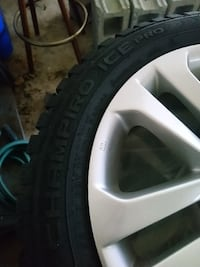 4 new winter tires and rims Nissan Juke
