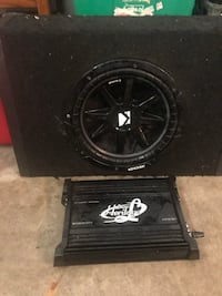 black Kicker subwoofer with enclosure Baton Rouge, 70808