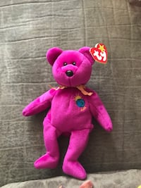 pink and purple bear plush toy Bensville, 20695
