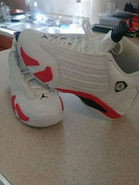 pair of white-and-red Air Jordan shoes Avon Park, 33825