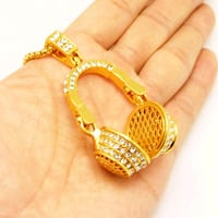 24 inch Hip Hop  Iced Out Pendant Nickles 24K GOLD London, N6P 0E2