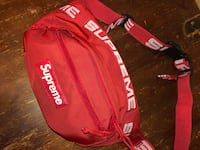 red and white Supreme fanny pack Guelph, N1H 5G5