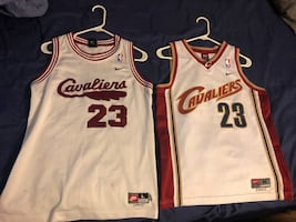 Lebron James Cavaliers Jersey youth sizes