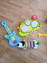 toddler's assorted color plastic toys 萨里