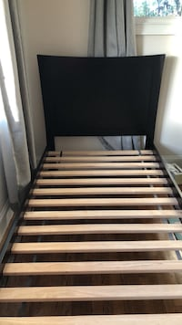 Almost new bed frame, 2 leg heights available Charlotte, 28270