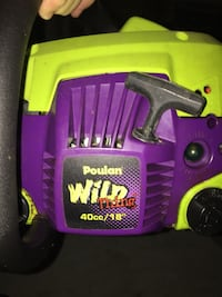 """Poulan pro Wild Thing 18"""" chainsaw St Catharines, L2T 1B4"""