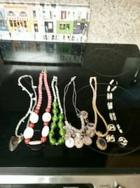 multiple dress necklaces