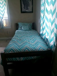 Twin size bed and mattress extra long  Montgomery