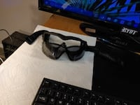 air soft Goggles with tint worn once few scratches but a great deal  St. Albert