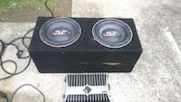 black and gray Fosgate Rockford 2-way speaker and  Clarksville, 37043