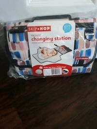 Changing station for on the go. Brand new