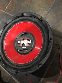 red and black subwoofer speaker Dartmouth, B2Y 3L1