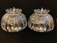 Vintage beautiful crystal luminaire Vancouver, V5R 6E7