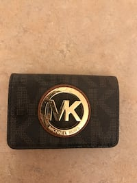 michael kors leather coins wallet
