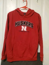 UNL Husker Football hooded sweatshirt Omaha, 68106