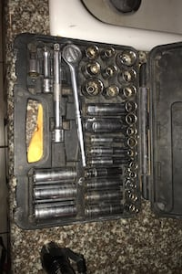 Complete socket and ratchet set Pittsburgh brand