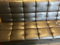 Choclate leather futon Tysons, 22102