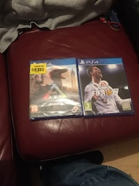 two Sony PS4 game cases Barnsley, S75 6EL