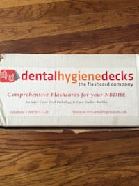 DHD Dental Hygiene Decks box