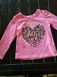 2t Pink Long Sleeve Shirt Riverside, 92505