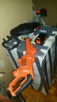 black and orange Black & Decker power tool Toronto, M9A 1B2