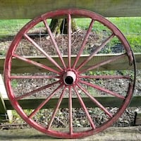 """34"""" Amish Style Buggy Carriage Cart Wooden Wheel Franklin, 37064"""