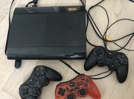 PS3 with 3 wireless controllers