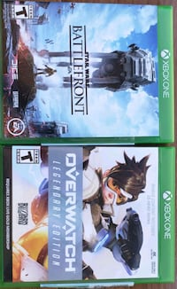 xbox Games: Overwatch and StarWars Battlefront Pleasanton, 94566