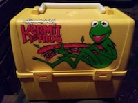 Vintage Kermit the frog lunch box Lake Alfred, 33850