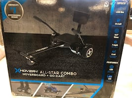 New Hover-1 All-Star Combo Hoverboard & Go Kart
