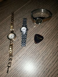 3 stainless steel backed watches  Edmonton