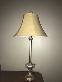 Brown and white table lamp set of 2 Calgary, T1Y 5S9