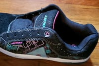 Glittery colorful sneakers