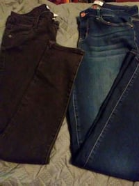 No boundaries pants size 7 L E I jeans size 11 Oswego, 13126