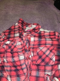 red, black, and white plaid dress shirt Louisville, 40214